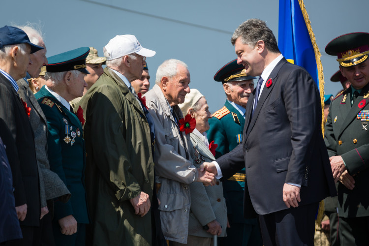 ATO soldiers and veterans of World War II.